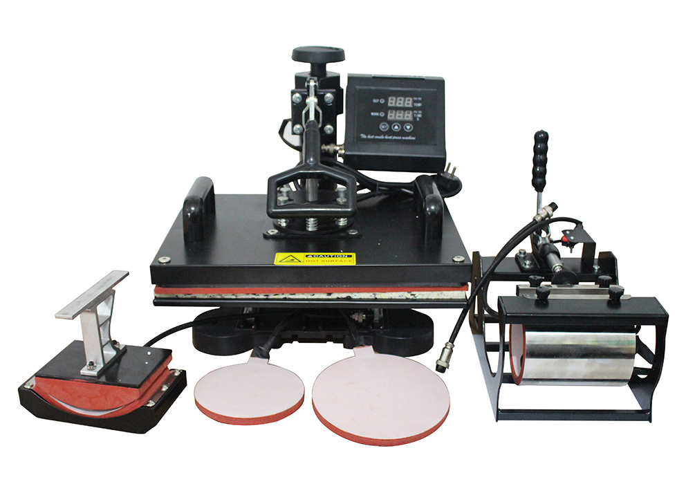 jual mesin press 5 in 1