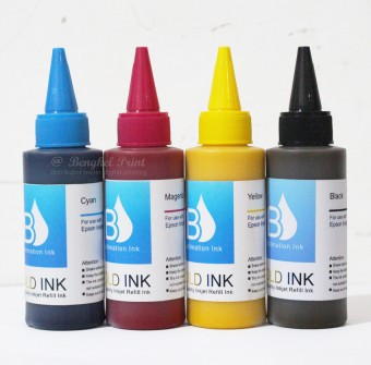 Tinta Sublimasi CMYK 100ml