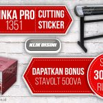 Mesin Cutting Sticker JINKA PRO 1351