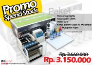 Promo Paket Mesin Press Mug Sublimasi