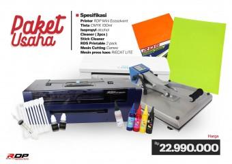 Paket Usaha Printer RDP Ecosolvent A3+