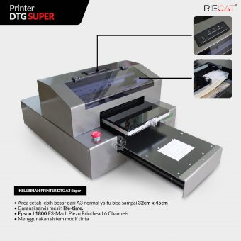 Printer DTG Riecat A3 Super