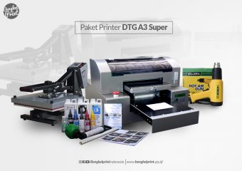 Paket Printer DTG A3 Super