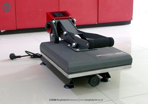 mesin press kaos terbaru ukuran mini