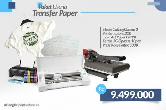 Paket Usaha Hemat Cutting Sticker +  Transfer Paper 3G Opaque
