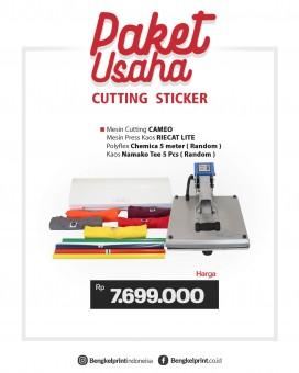 Paket Usaha Hemat Cutting Sticker Cameo3