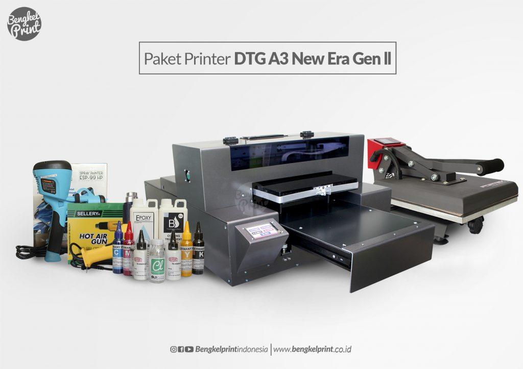 Paket printer dtg new era gen 2 terbaru