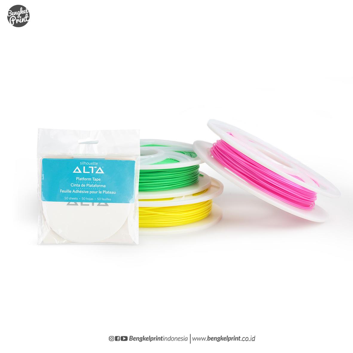 bahan filament silhouette ALTA 2019