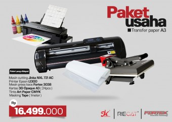 Paket Usaha JINKA NXL 721 AC + Transfer Paper 3G Opaque A3
