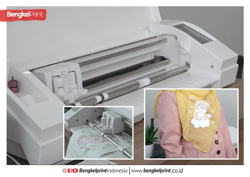Printing Hijab Mudah Dengan Transfer Paper 3G Opaque
