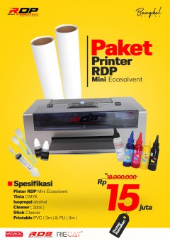 Mesin Printer RDP Mini Ecosolvent