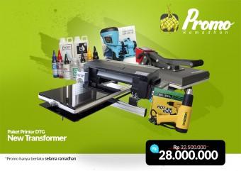 PROMO Paket DTG RIECAT New Transformer Edisi Ramadhan 2019