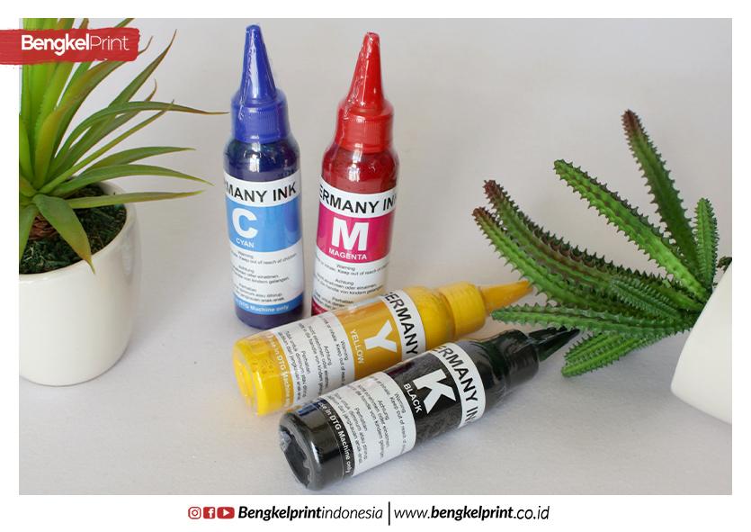 jual tinta textile germany cmyk 100ml