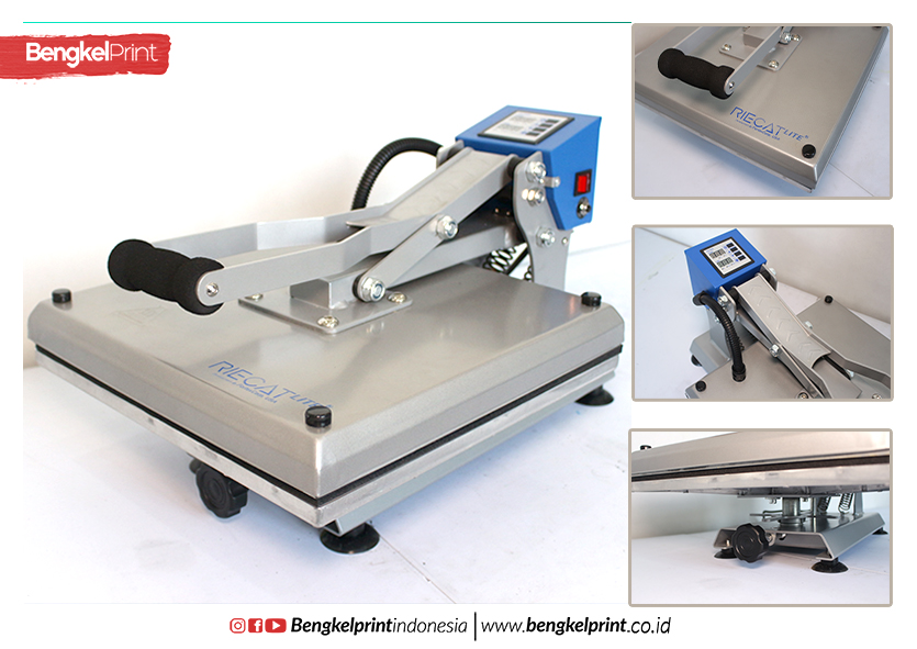 7 Kelebihan Heat Press RIECAT LITE 880 Watt TERBARU
