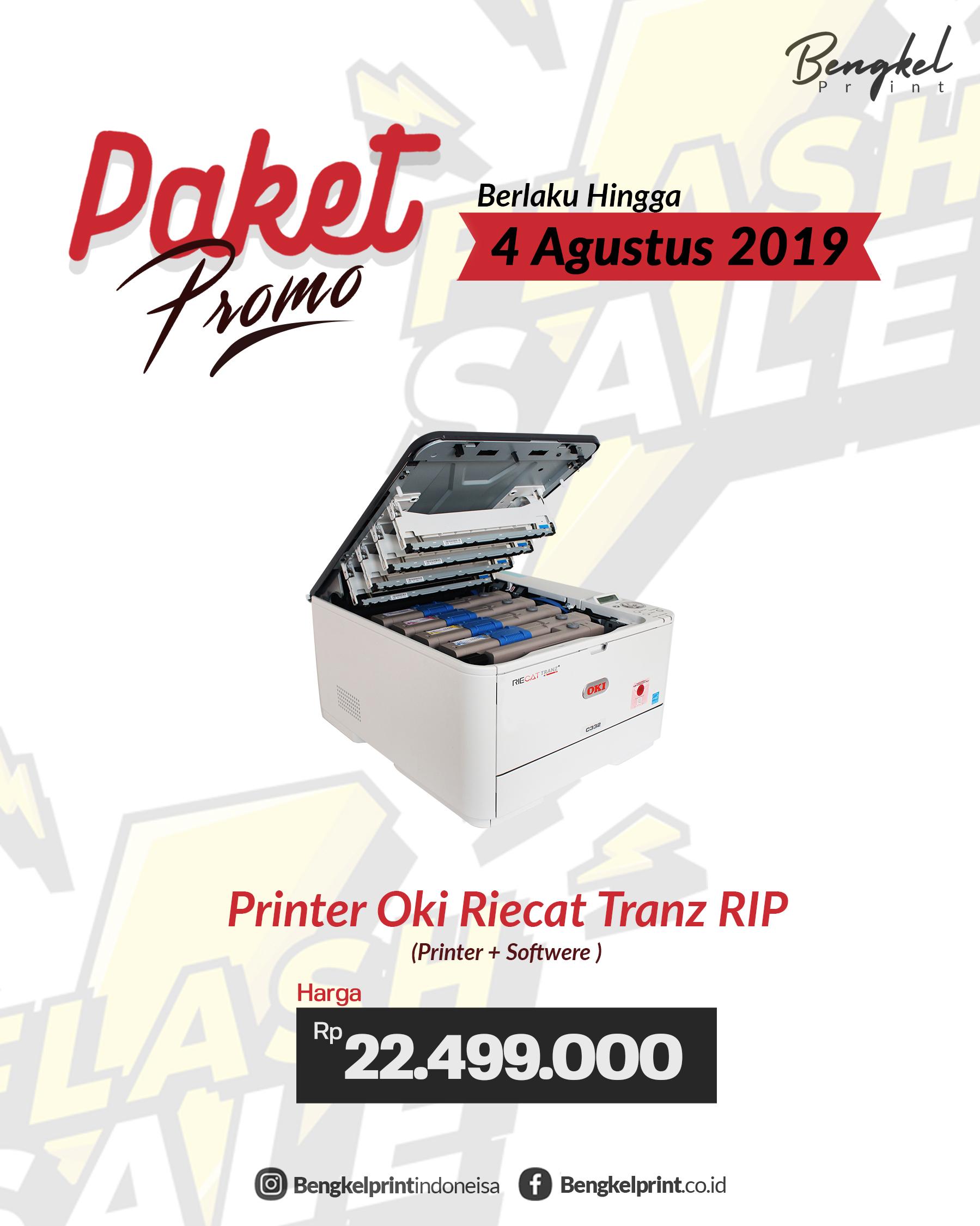 pusat jual printer oki riecat tranz c322 murah terbaru 2019