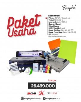 Paket Lengkap Usaha Printer RDP Ecosolvent