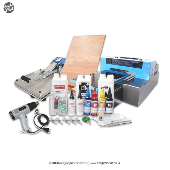 paket printer dtg a3 riecat new transformer dx-5