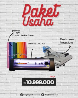 Paket Usaha Cutting Sticker Jinka 721 NXL AC