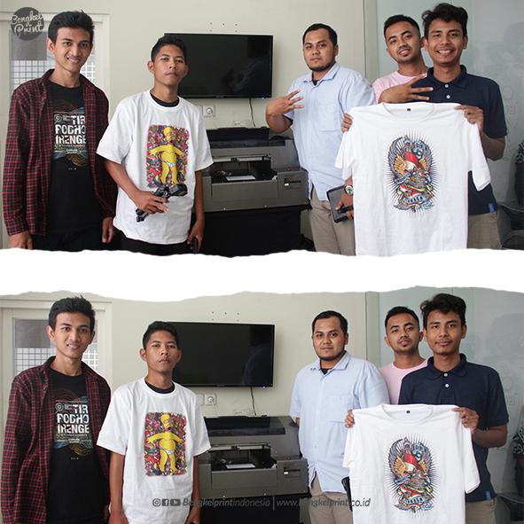 tarining DTG GRATIS di bengkel print indonesia