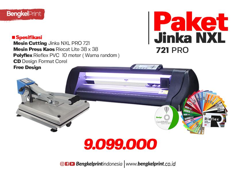 Paket Usaha Cutting JINKA NXL 721 PRO 9 Jutaan