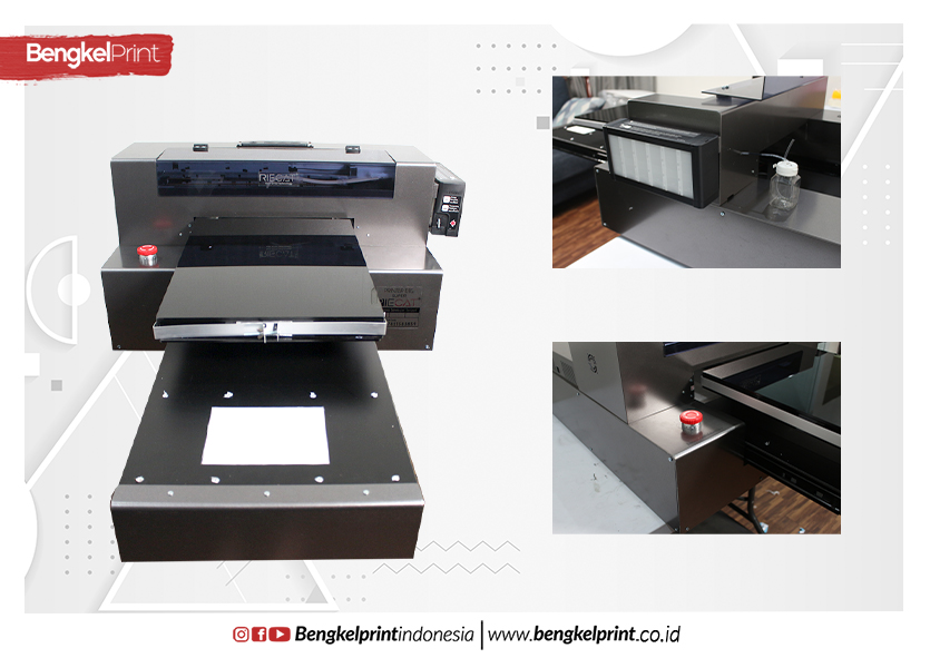 Printer DTG A3 RIECAT SUPER Terbaru 2019