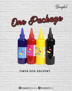 ONE PACKAGE TINTA ECOSOLVENT