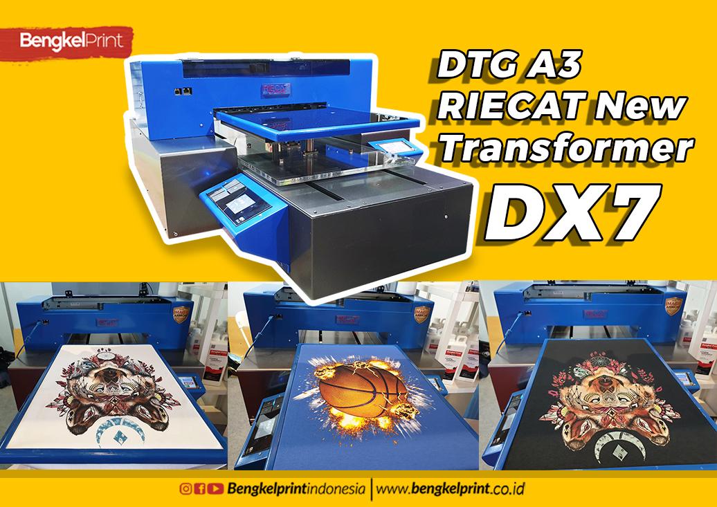perfoma printer DTG DX7 Basic EPSON p607