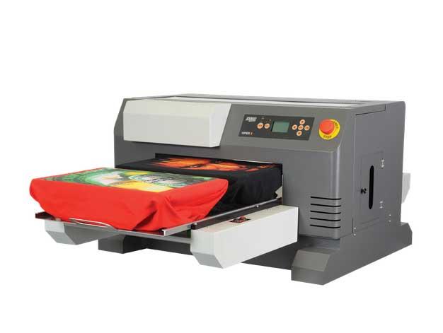 salah satu contoh printer dtg import