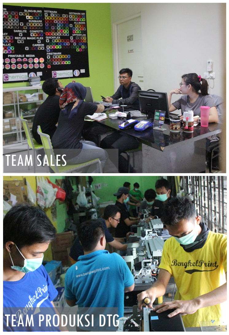 team sales bengkel print