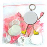Bahan Pin Gantungan Kunci Boneka 44&58 Import