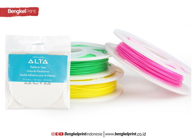 bahan filament PLA, ABS