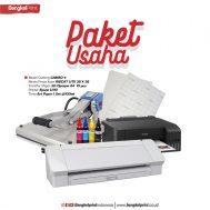 Paket Usaha Hemat Cutting Sticker +  Transfer Paper 3G Opaque
