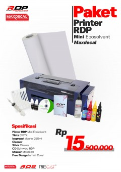 Paket Printer RDP Ecosolvent + Max Decal