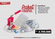 Paket Usaha Press Pin Talent