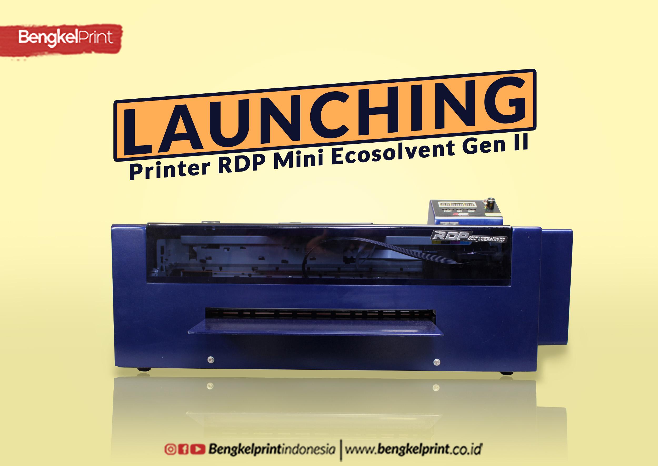 launching printer rdp generasi 2
