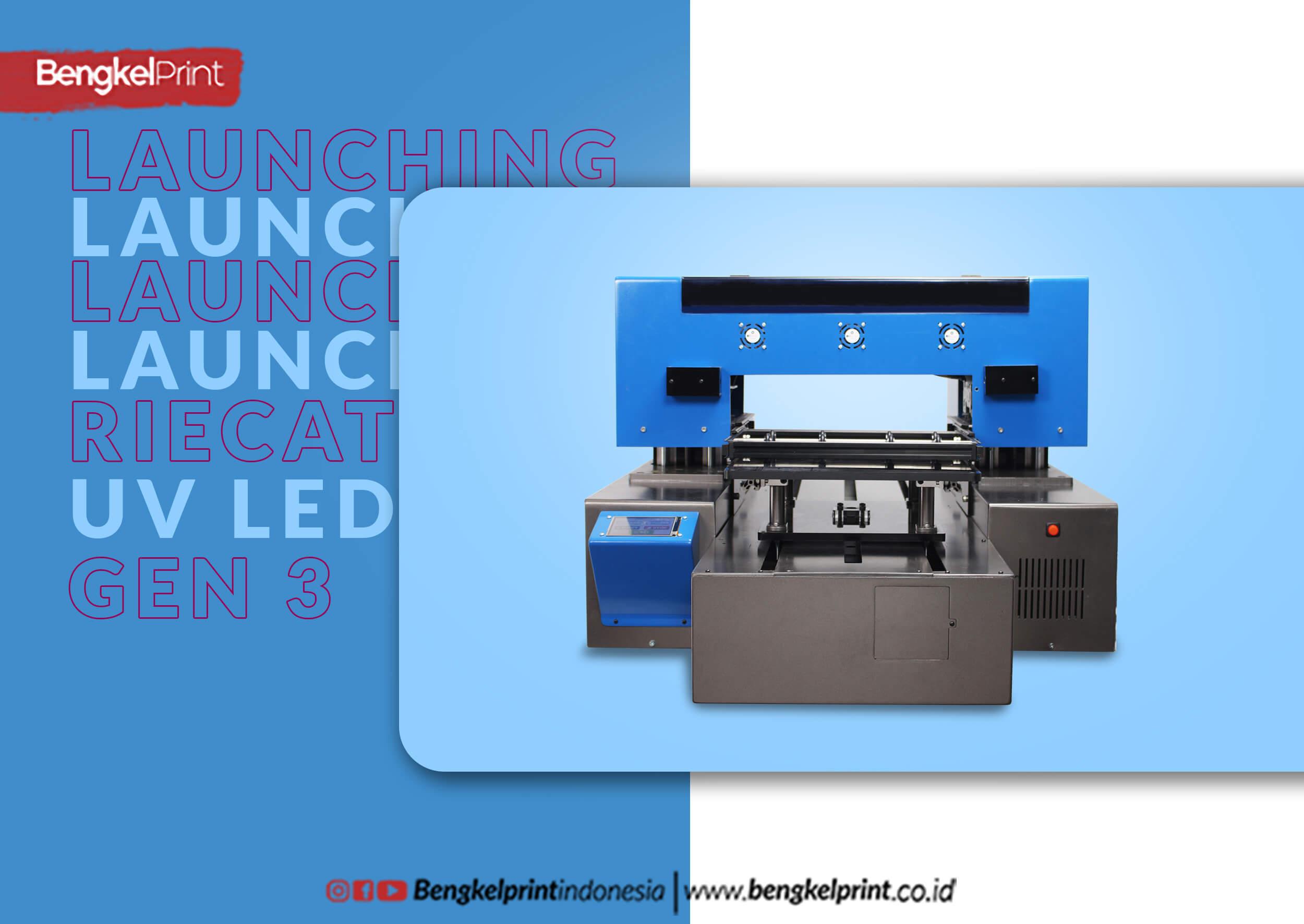 launching printer uv led riecat gen 3