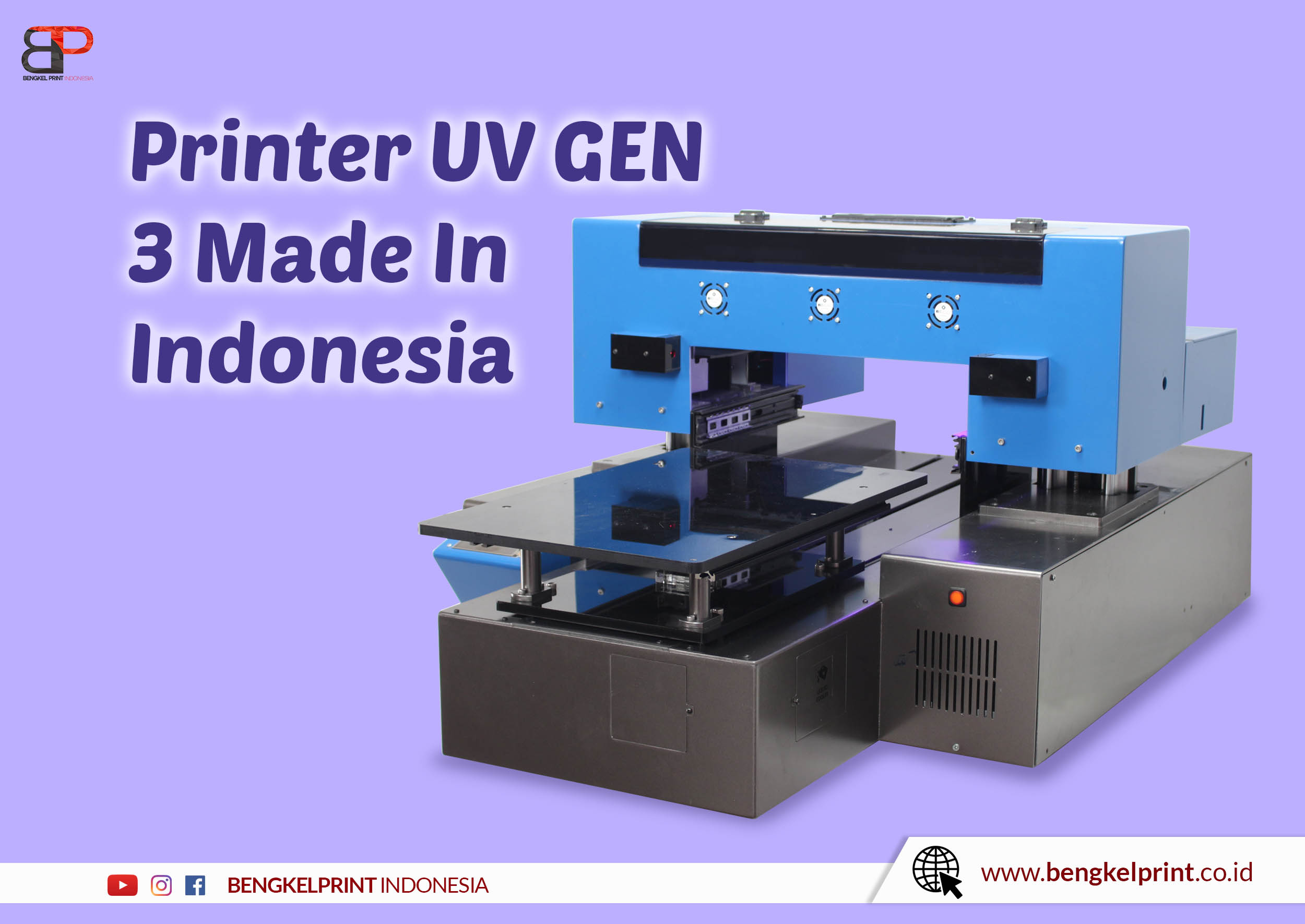 printer UV GEN 3 Made in indonesia