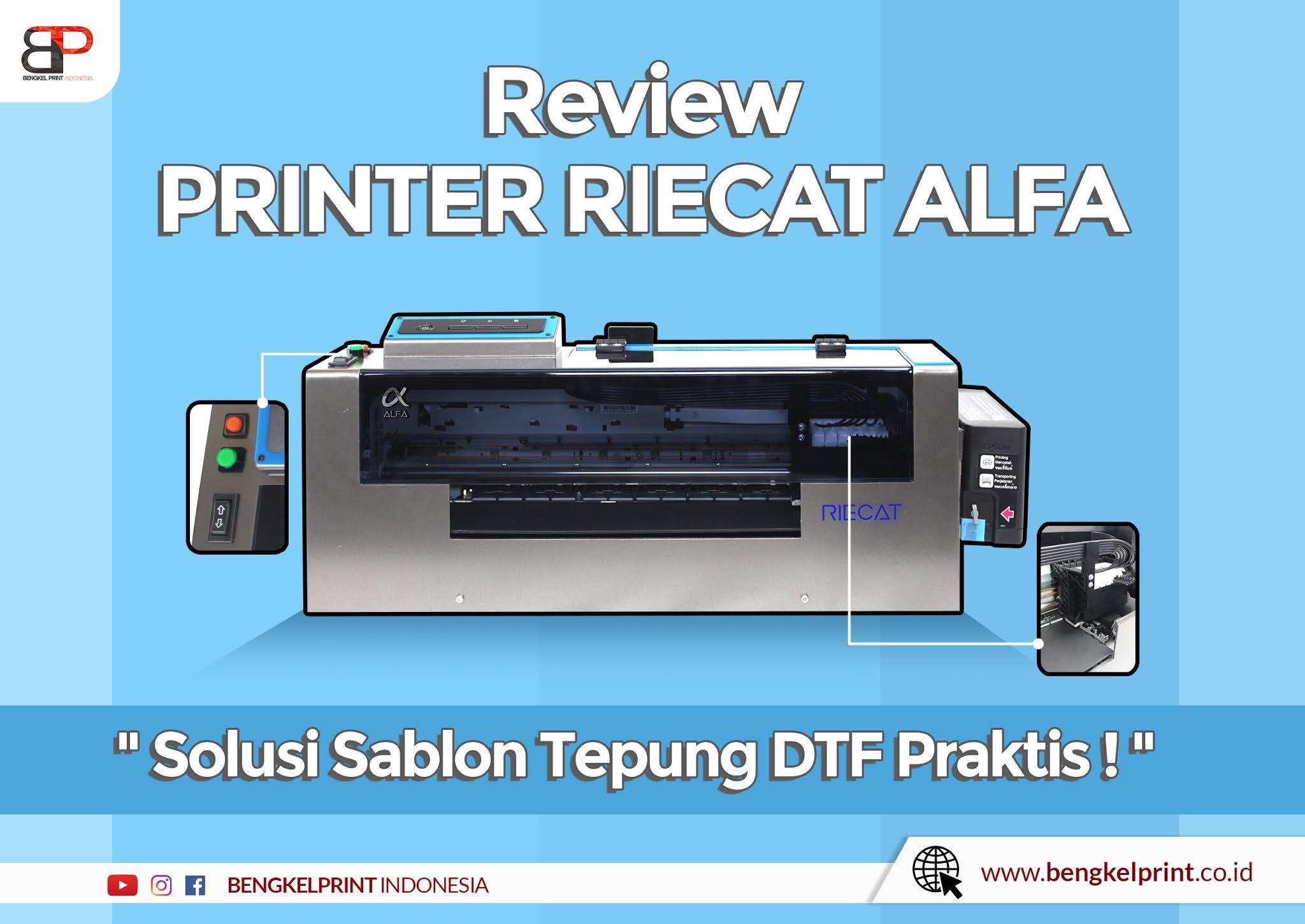 Jual Printer RIECAT ALFA Murah