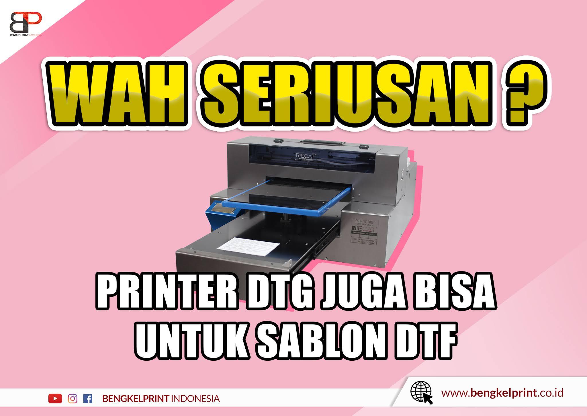 Paket Usaha Sablon DTG murah
