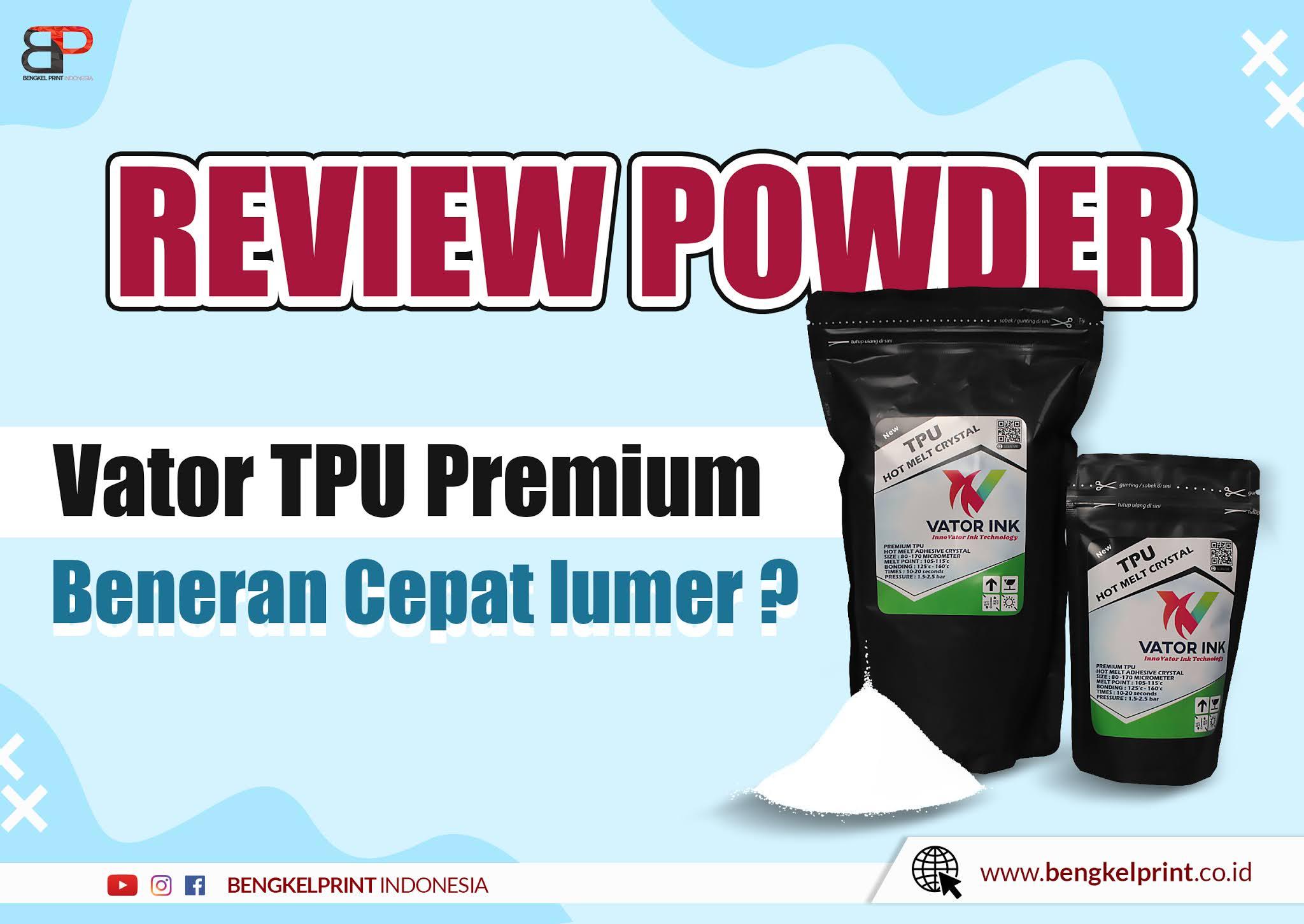 Jual Vator TPU Premium murah