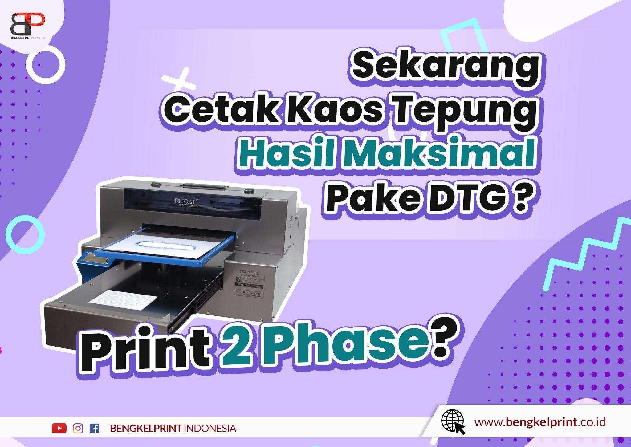 Print Kaos DTF Dengan DTG