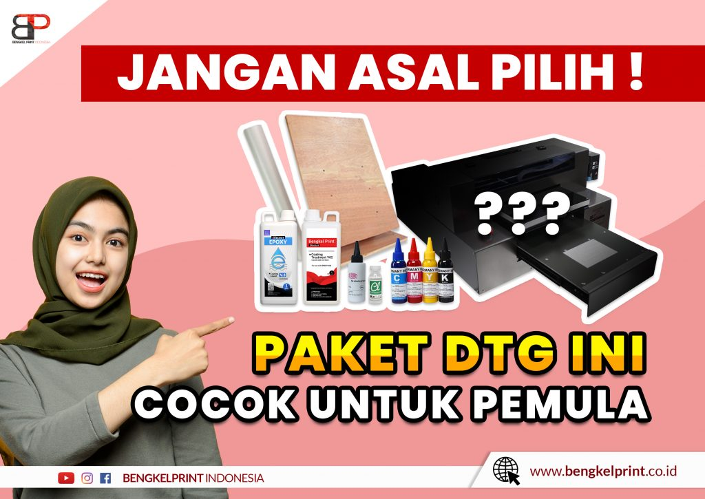 Jual Paket Printer DTG Murah 2021