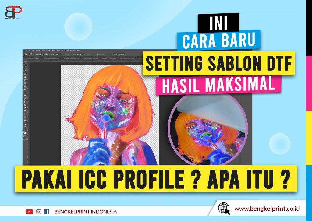 Cara Setting ICC Color Profile