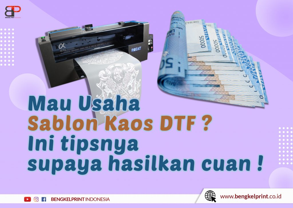 Printer Sablon Tepung