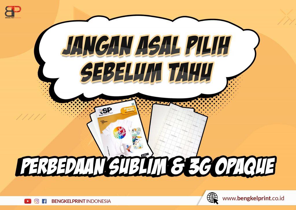 Sablon Kaos transfer paper