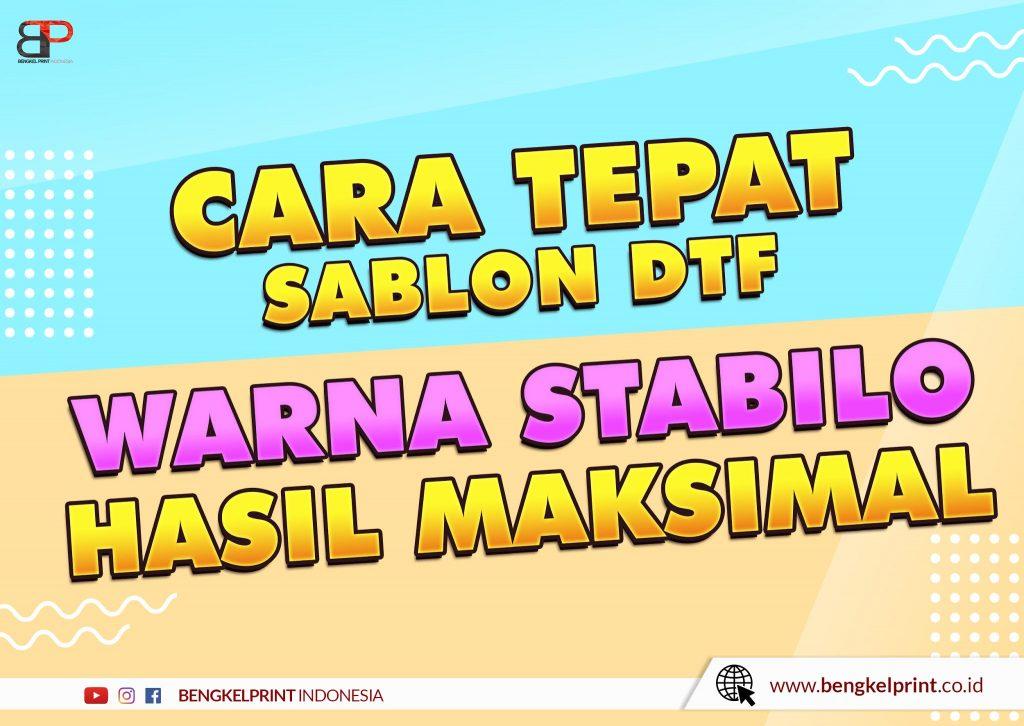 Sablon Stabilo A3 DTF