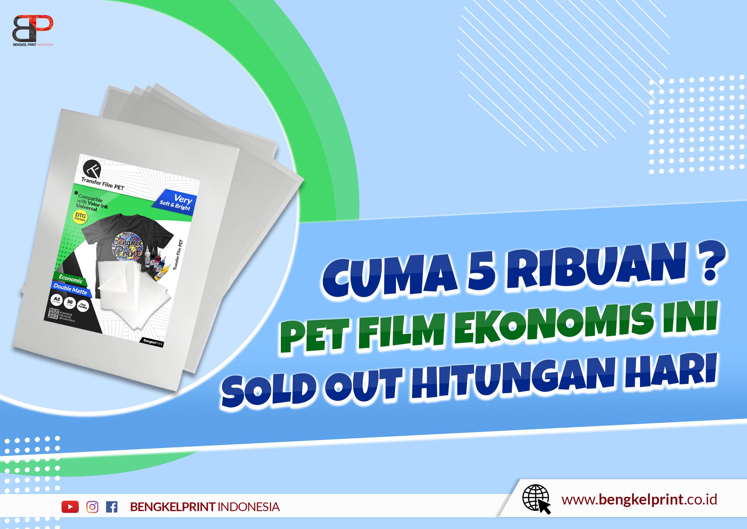Harga Transfer Film PET Double Mate