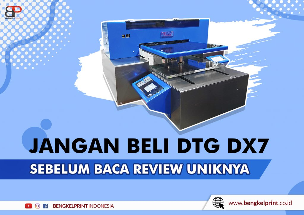 Printer DTG A3 RIECAT DX7