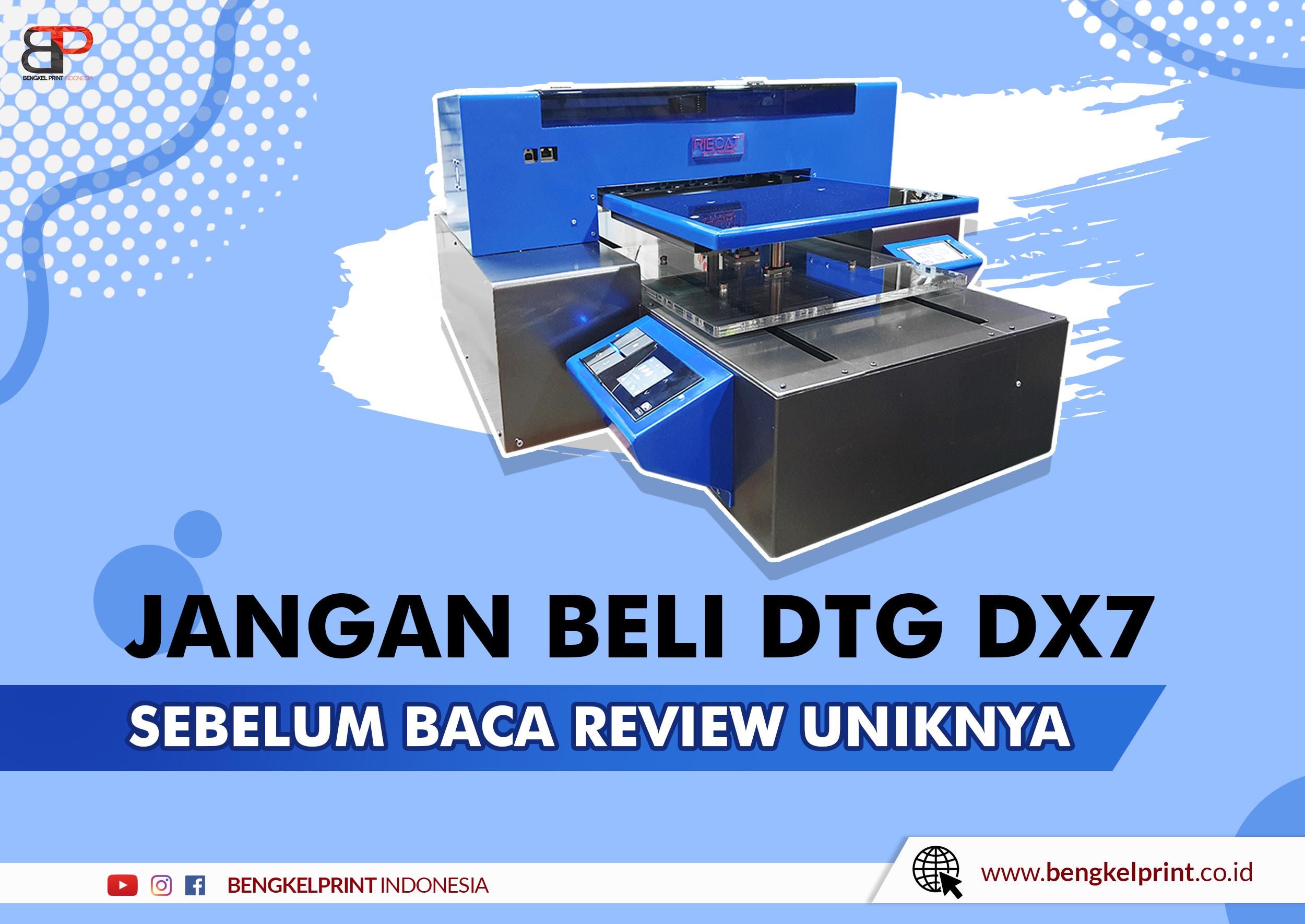 Printer DTG A3 RIECAT DX7
