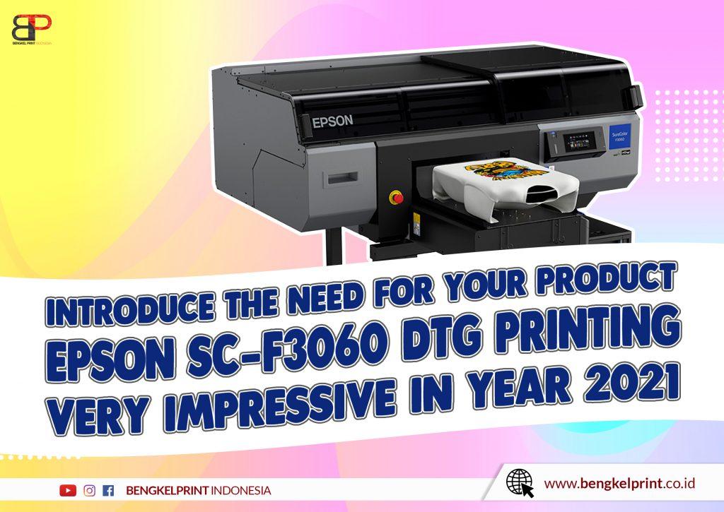 Printer DTG SureColor F3060